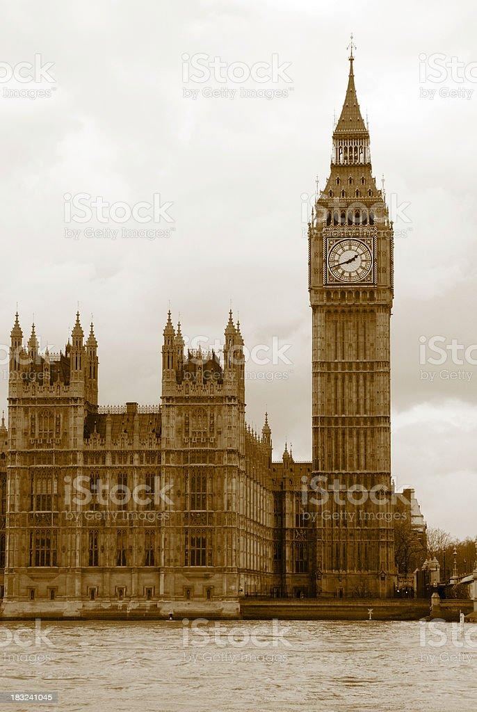 London, Parliament stock photo
