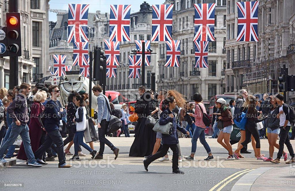 London people stock photo