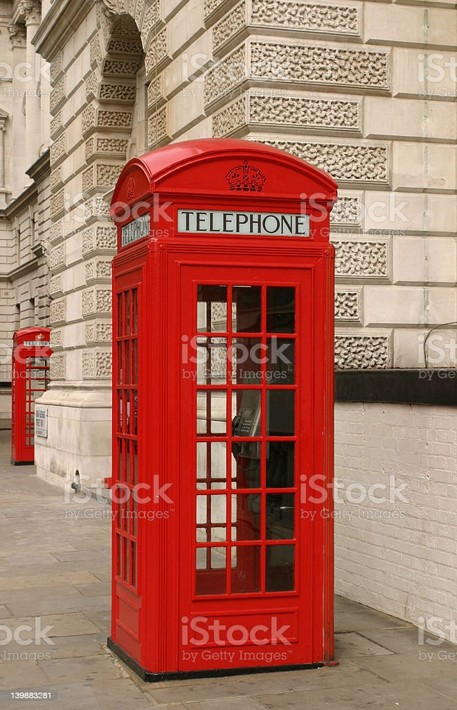 London phone booth royalty-free stock photo