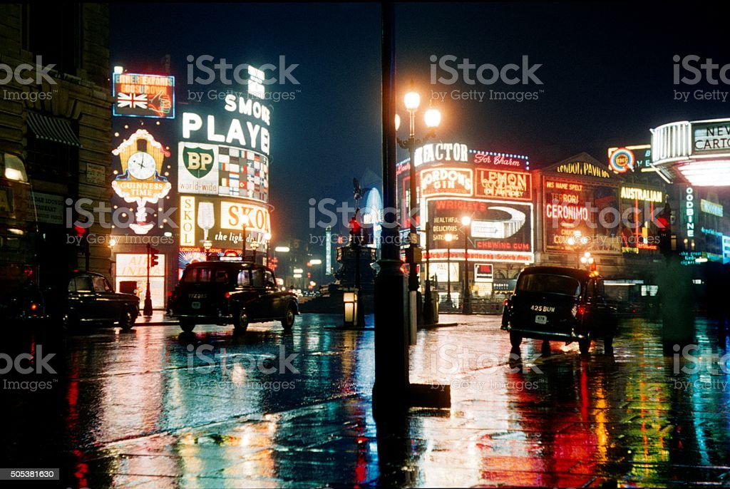 London, Piccadilly Circus II stock photo