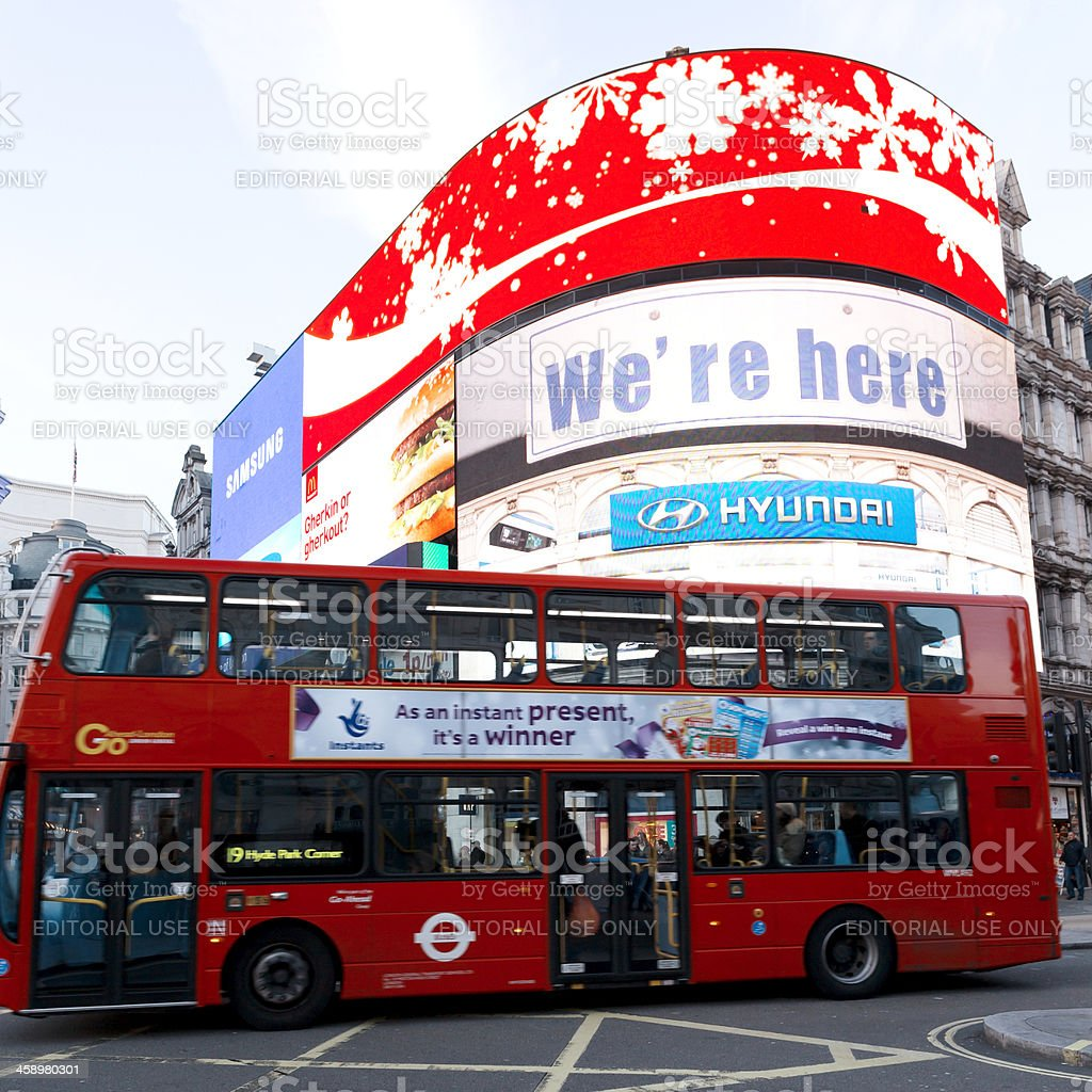 London Piccadilly royalty-free stock photo
