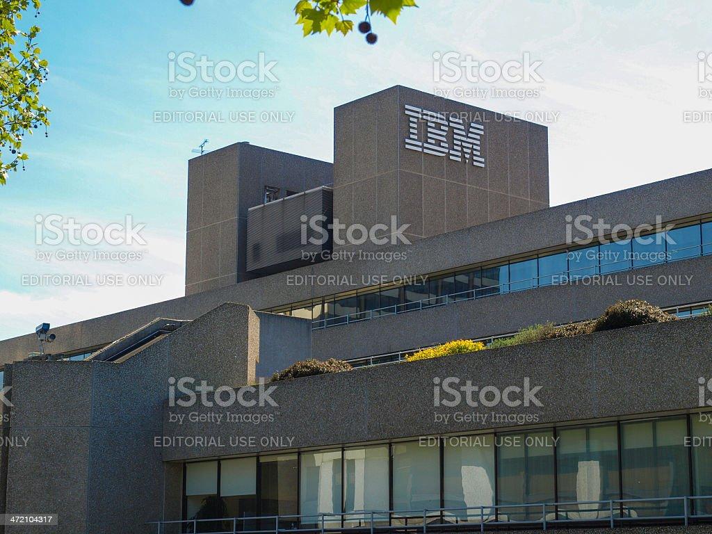 IBM London stock photo