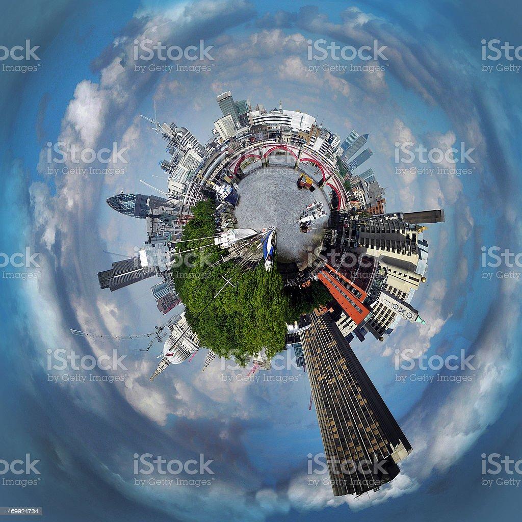 London Planet stock photo