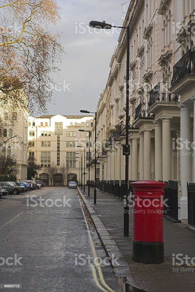 London Postbox #1 stock photo