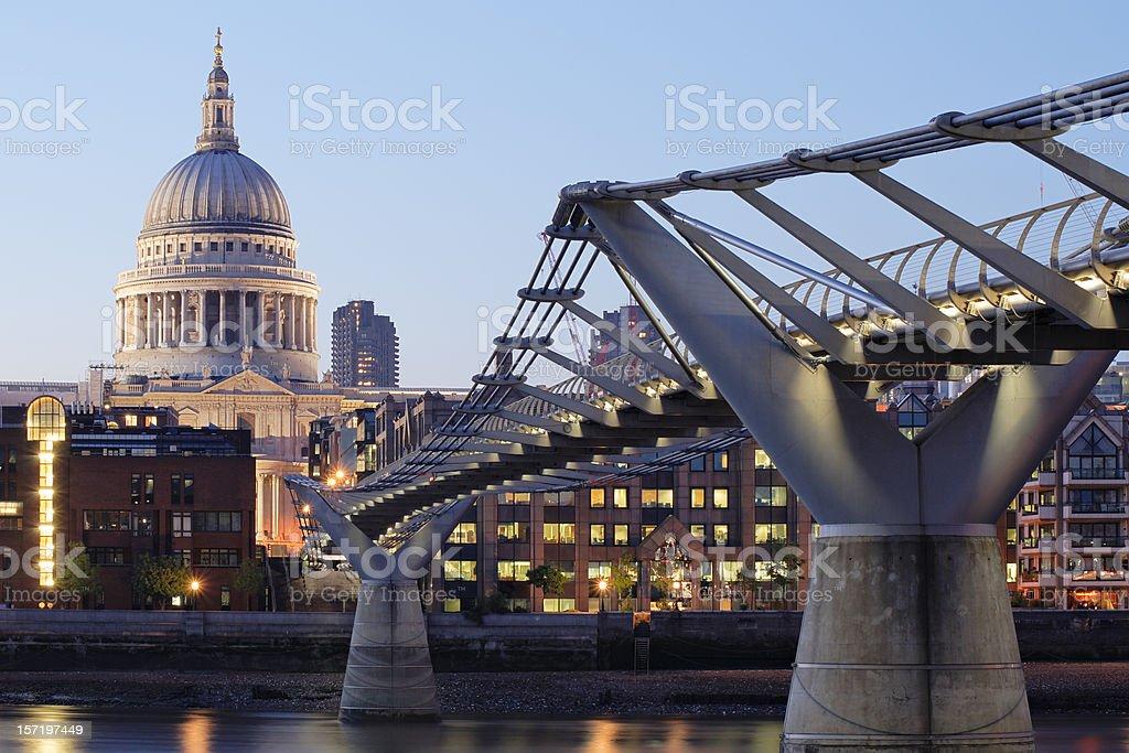 London Postcard royalty-free stock photo