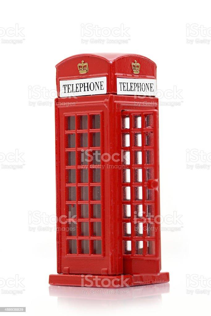 London public telephone royalty-free stock photo