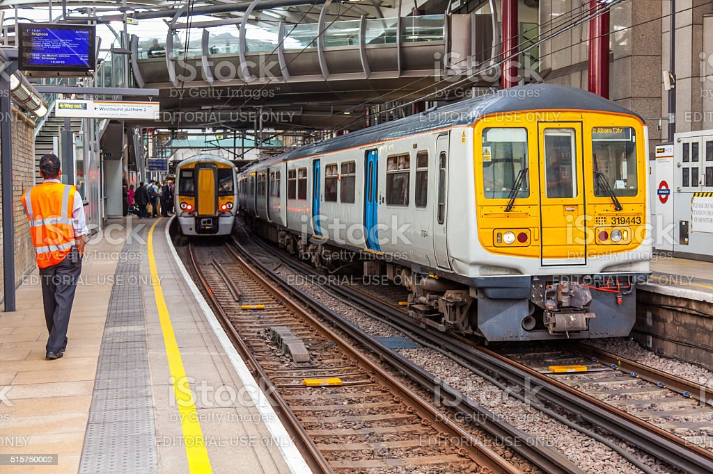London Railway Network stock photo