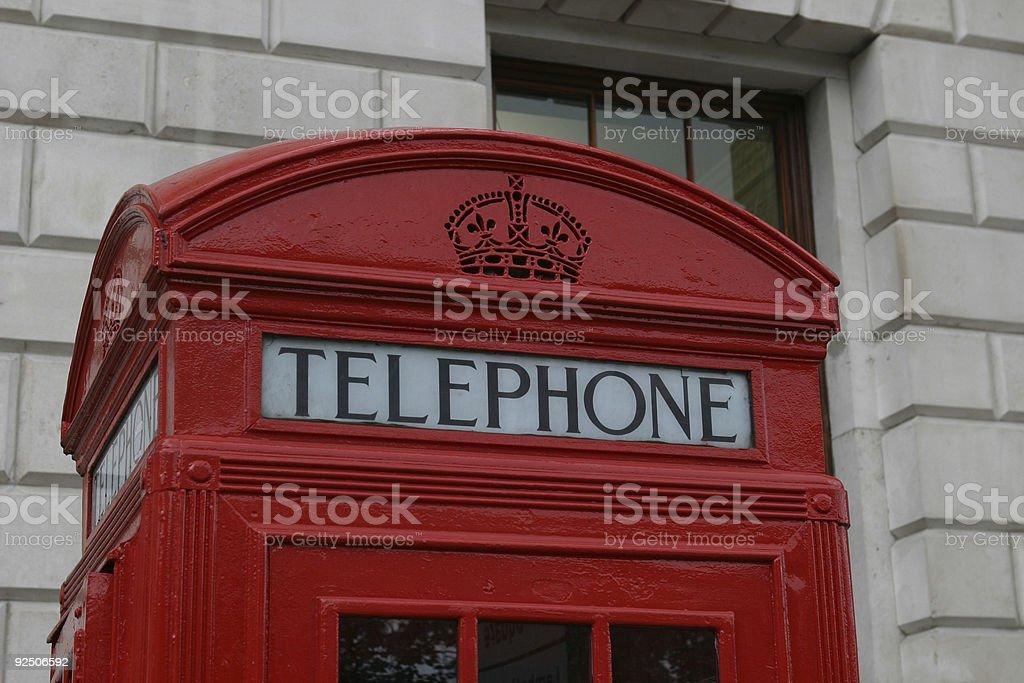 London red phone box royalty-free stock photo