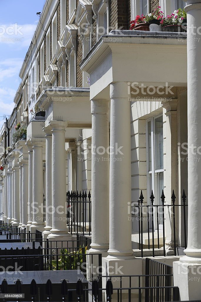 London Residence royalty-free stock photo
