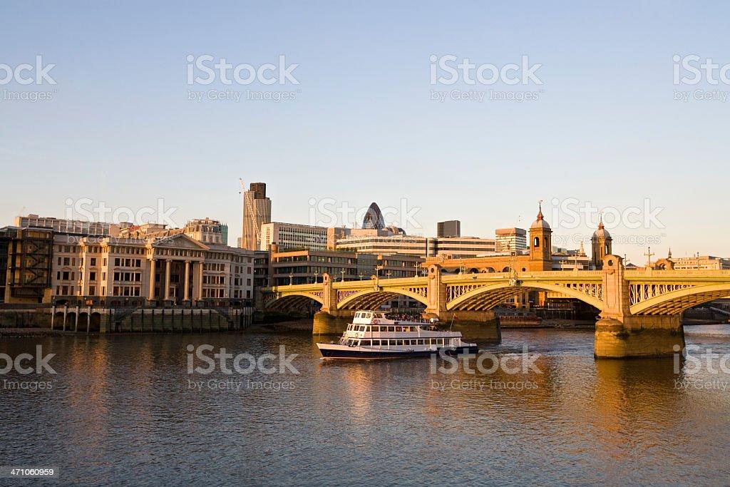 London River Thames royalty-free stock photo