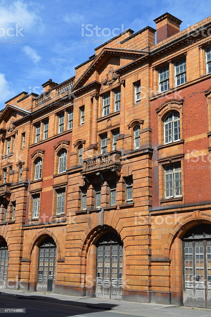 London Road Fire Station, Manchester stock photo