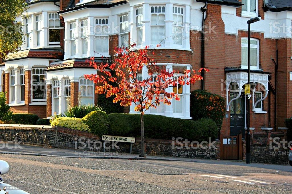 London - Roseberry Road royalty-free stock photo
