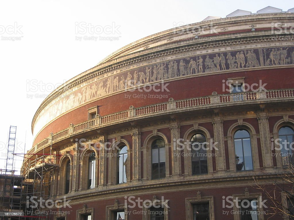 London - Royal Albert Hall royalty-free stock photo
