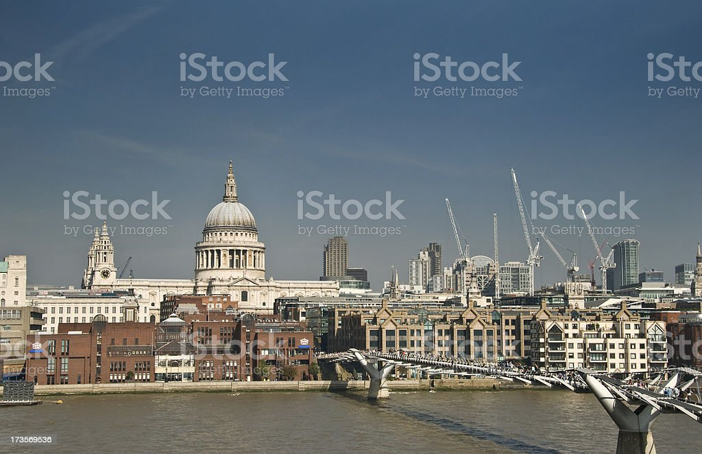 London Scene royalty-free stock photo