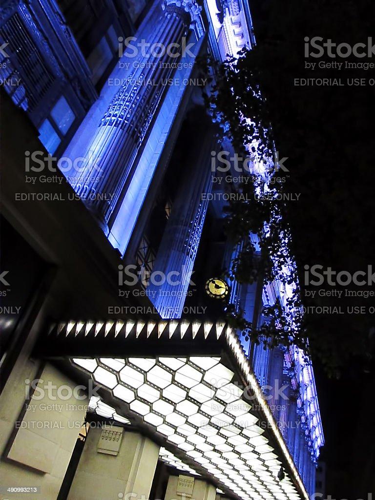 London Selfridges stock photo