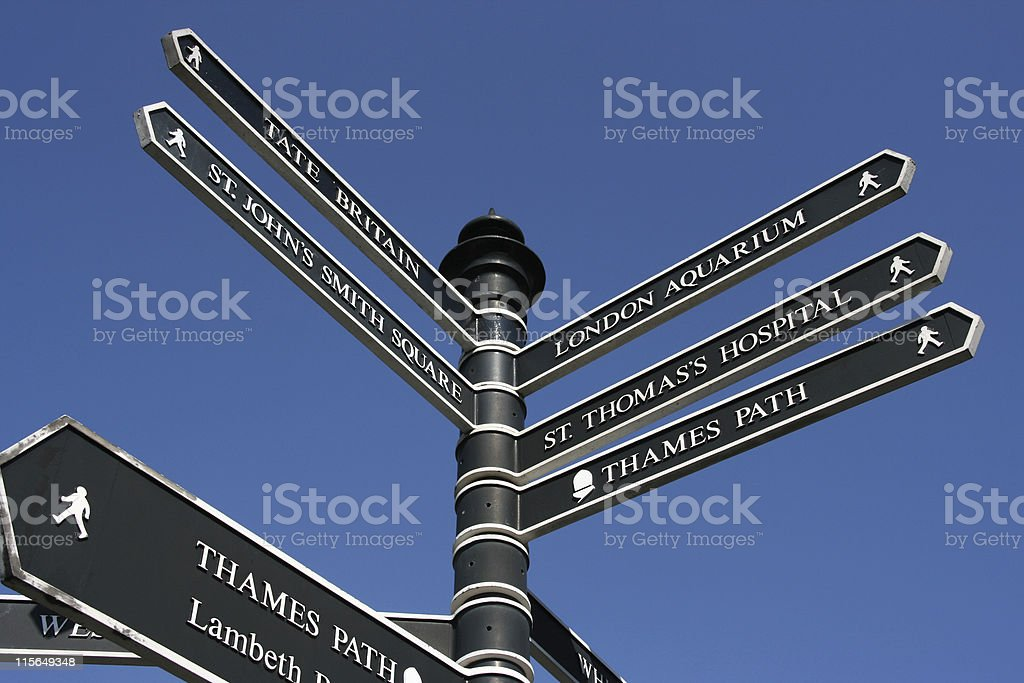 London sign stock photo