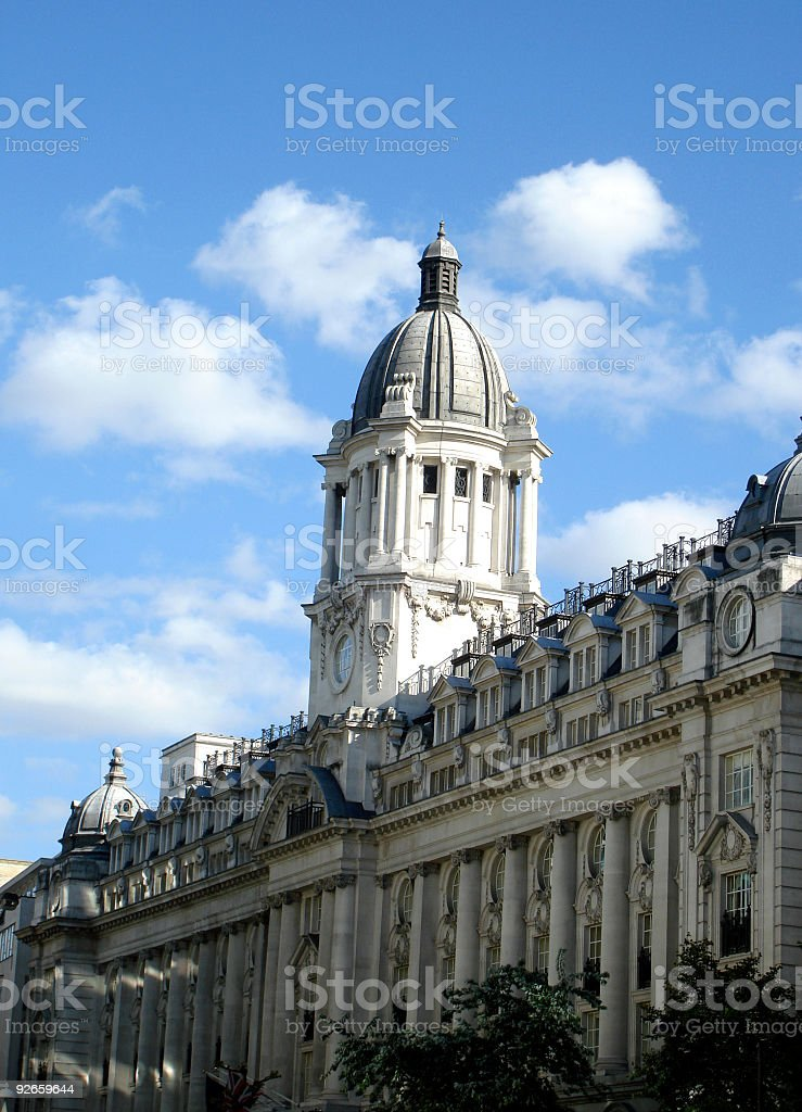 London Sky stock photo