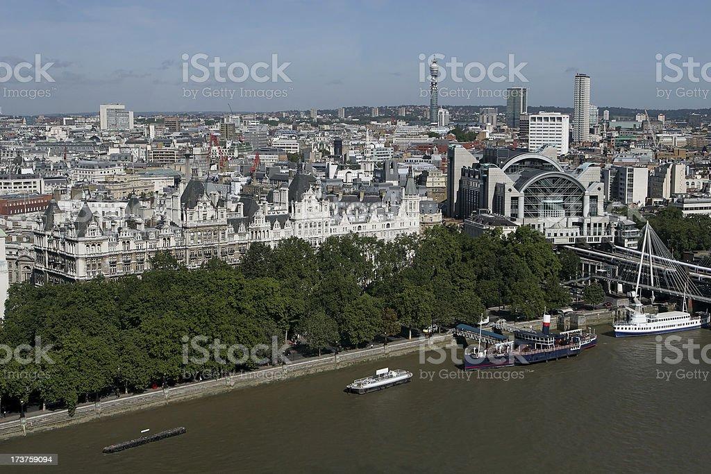 London Skyline. Aerial View royalty-free stock photo