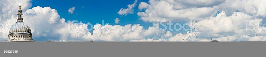 London skyline panorama royalty-free stock photo