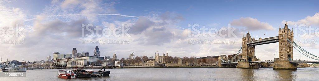 London skyline royalty-free stock photo