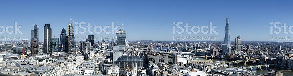 London skyscraper city royalty-free stock photo