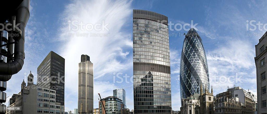 London Skyscrapers royalty-free stock photo
