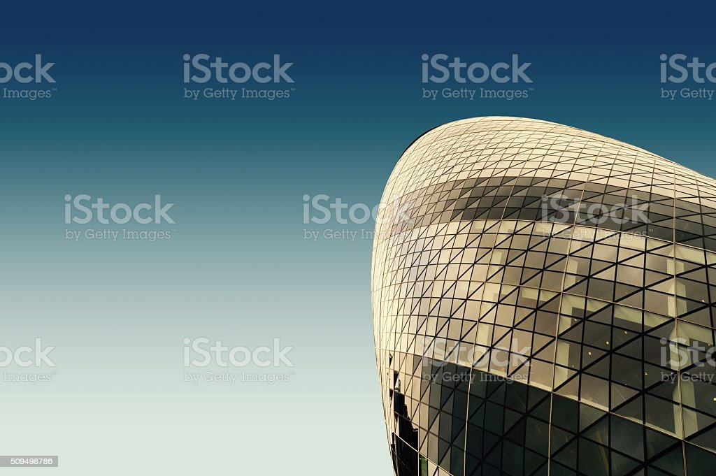 London skyscrapers stock photo