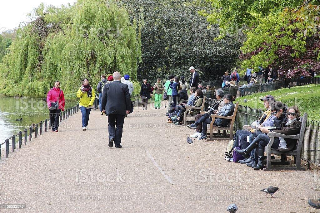 London - St. James's Park royalty-free stock photo