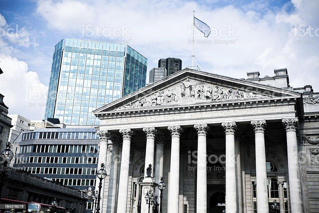 London Stock Exchange stock photo