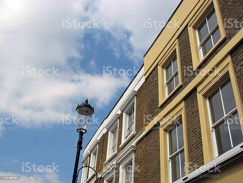 London street lamp stock photo