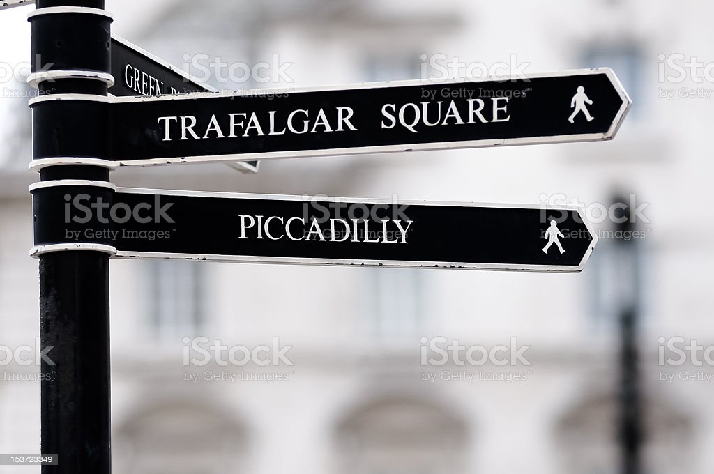 London Street Signpost stock photo