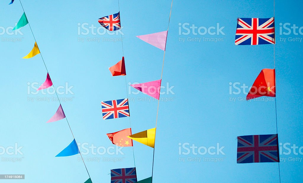 London style celebration royalty-free stock photo