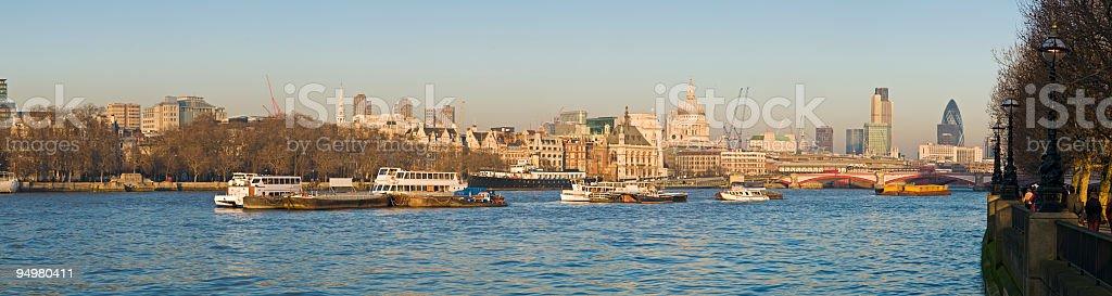 London sunset riverside royalty-free stock photo