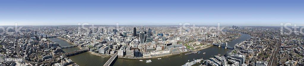 London super panorama stock photo
