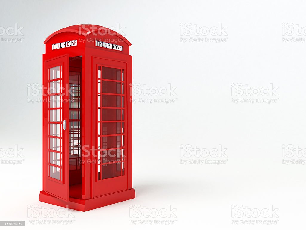 London telephone box royalty-free stock photo