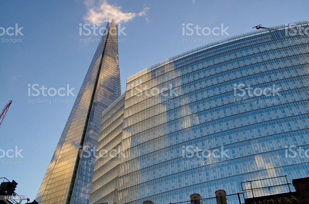 London The Shard stock photo
