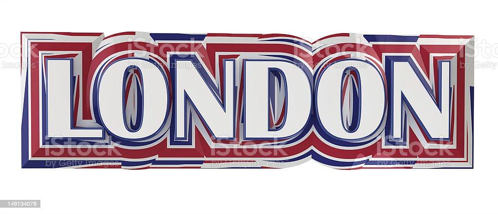 London Title stock photo
