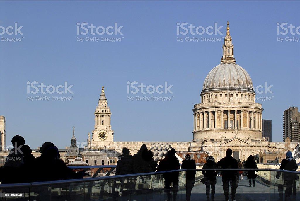 London tourists. royalty-free stock photo