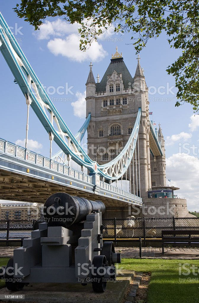 London. Tower Bridge on a Sunny day royalty-free stock photo
