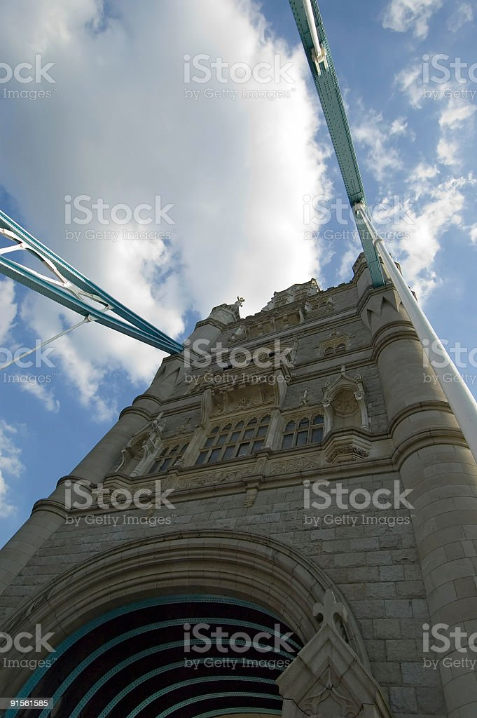 London Tower Bridge V stock photo