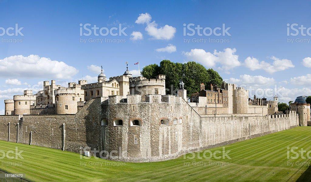 London. Tower of London stock photo
