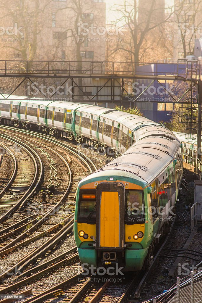 London train stock photo