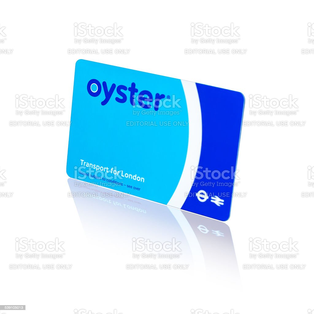 London Transport Oyster Card stock photo