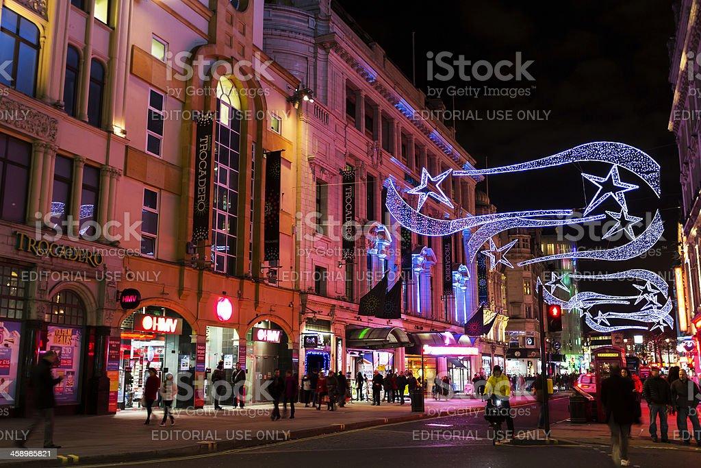 London Trocadero royalty-free stock photo