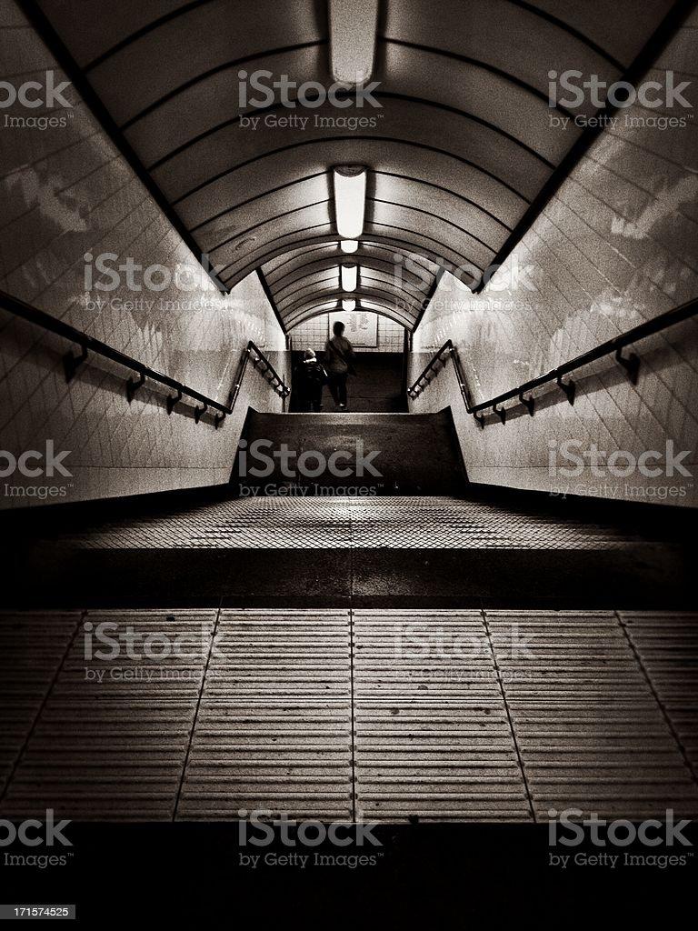 London Underground royalty-free stock photo