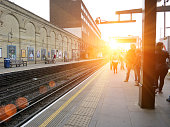 London underground West Brompton station