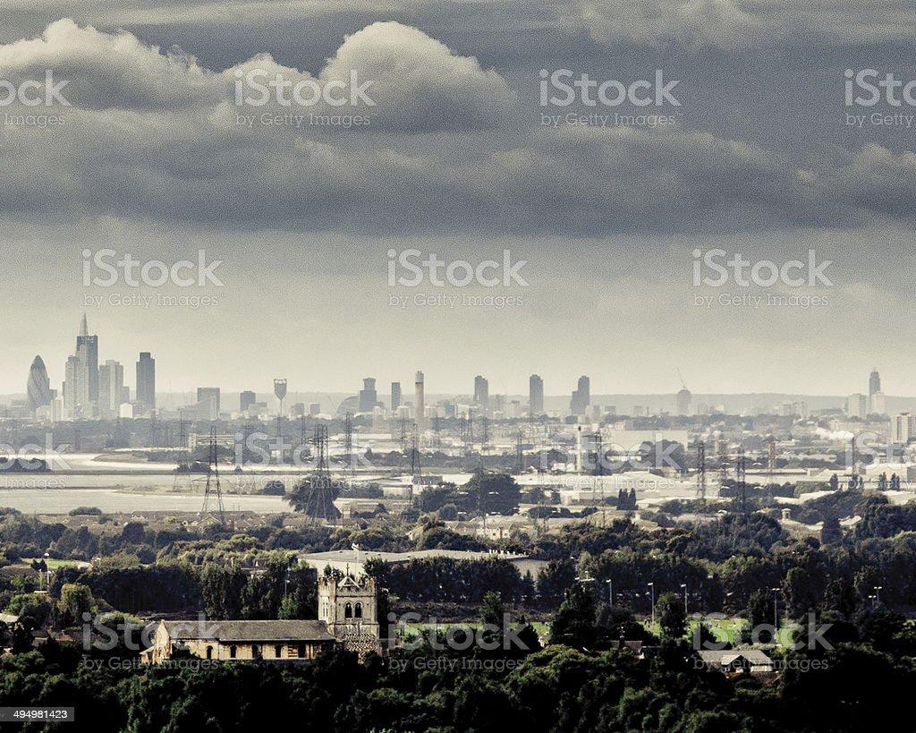 London View stock photo