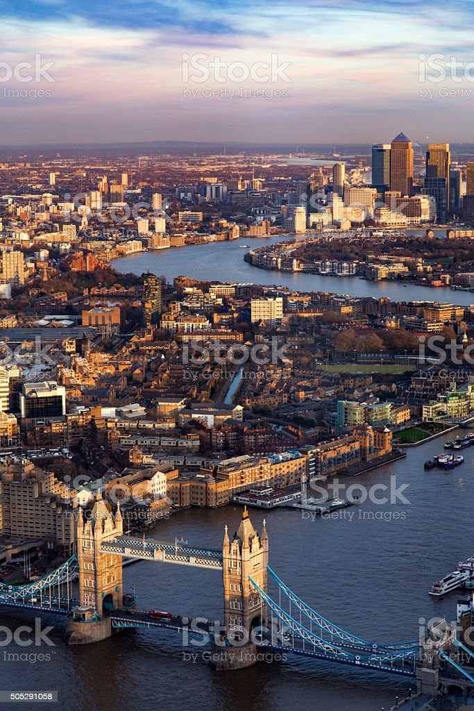 London View stock photo