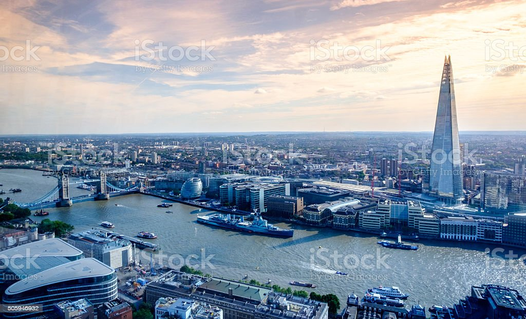 London views stock photo