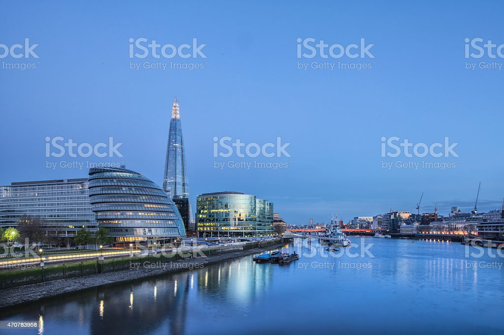 London Vista stock photo
